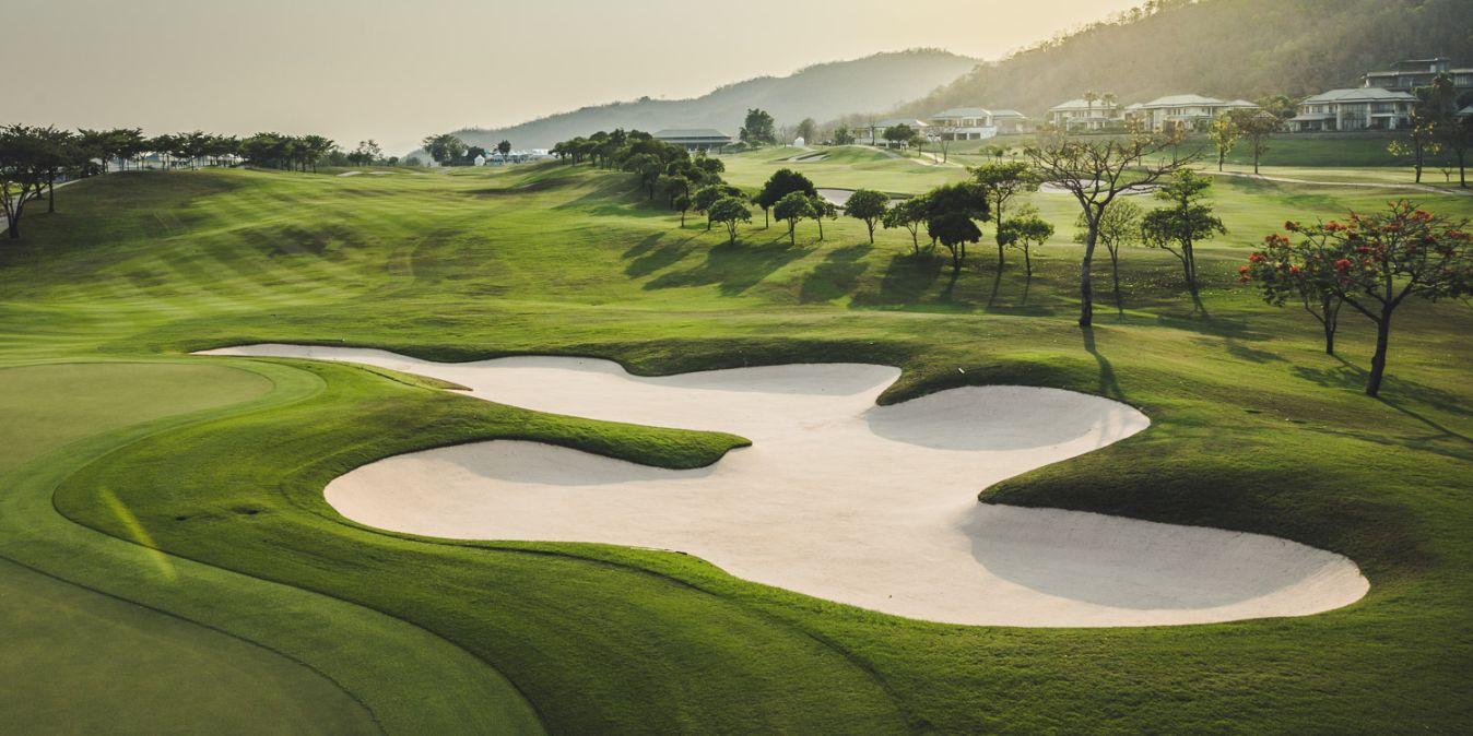 Des parcours de golfes dans des paysages à couper le souffle.