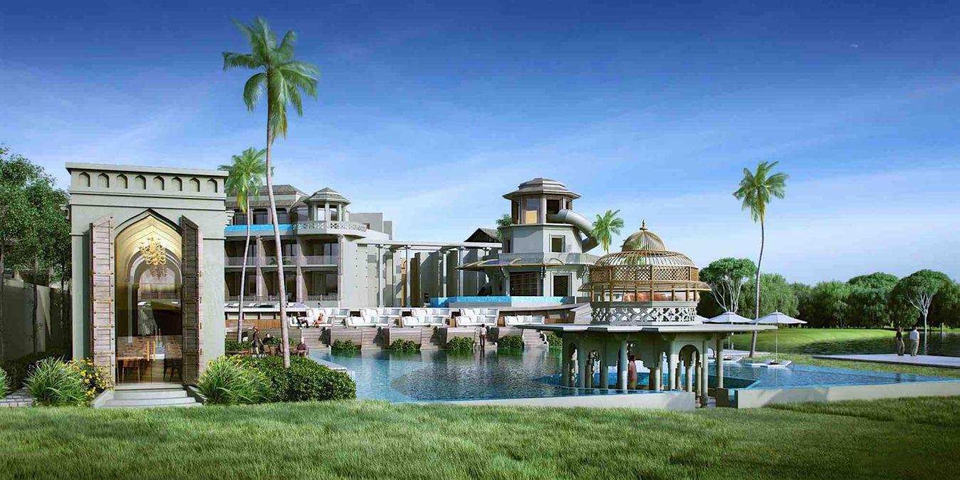 Le Devasom Resort à Hua Hin, Thaïlande.