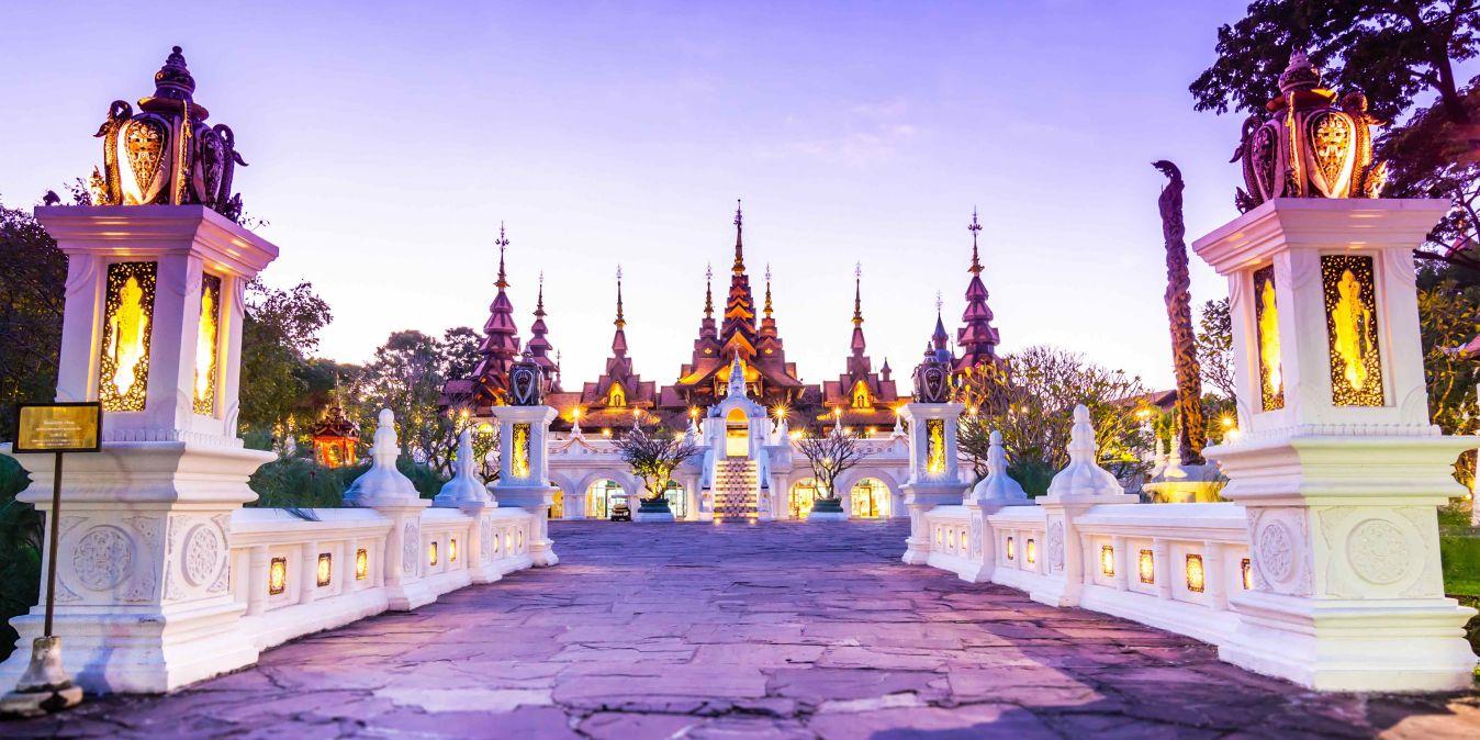 Hébergement confortable pour un séjour de détente dans le nord de la Thaïlande.