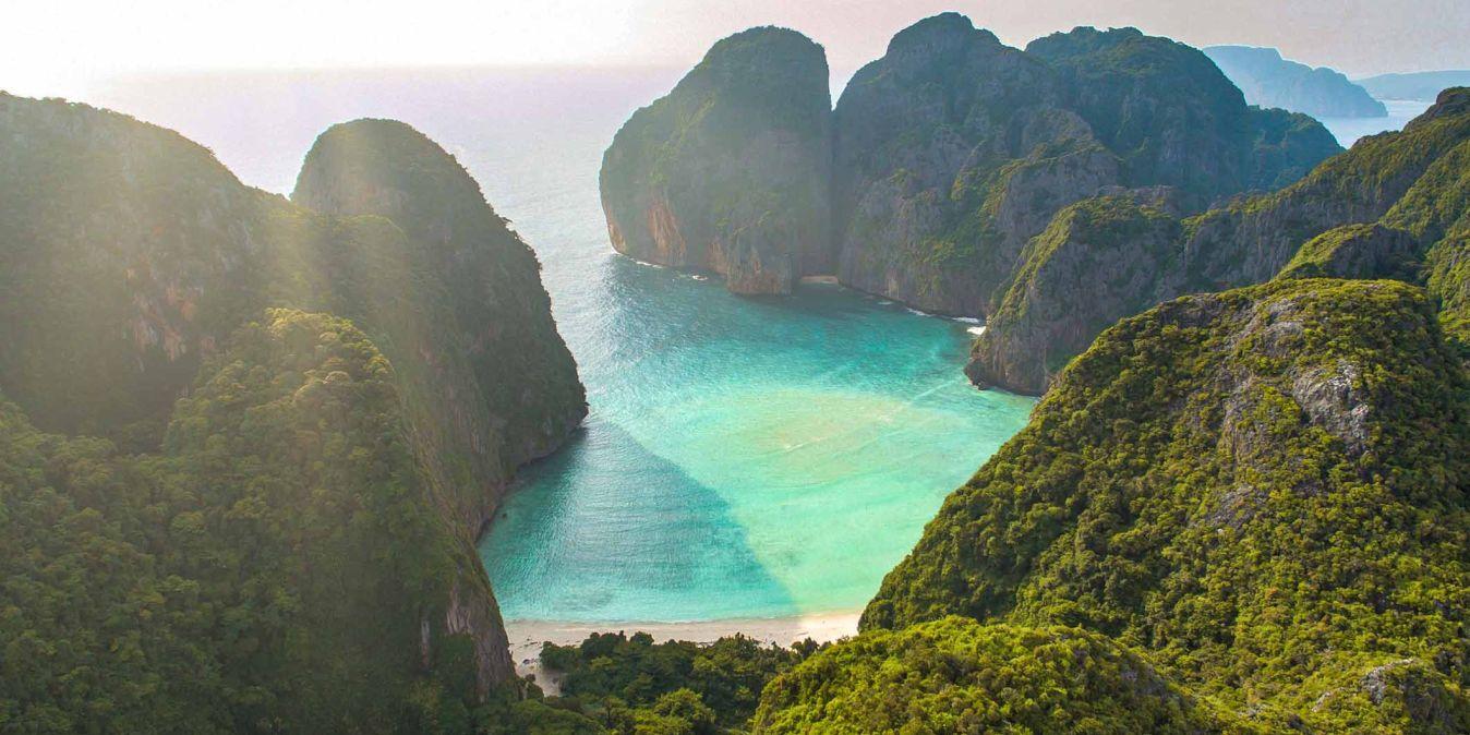 Hollywood, la Thailande, ses îles et ses plages thaïlandaises.