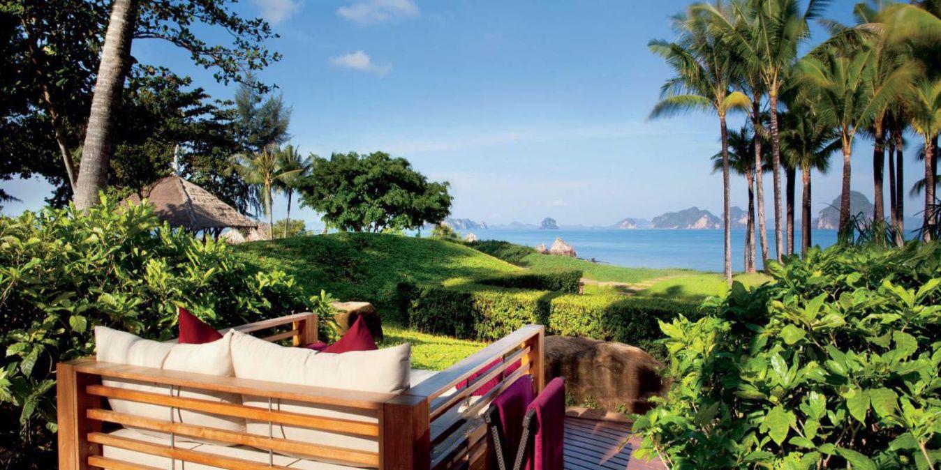 Phulay Bay Krabi, une réserve du Ritz-Carlton.
