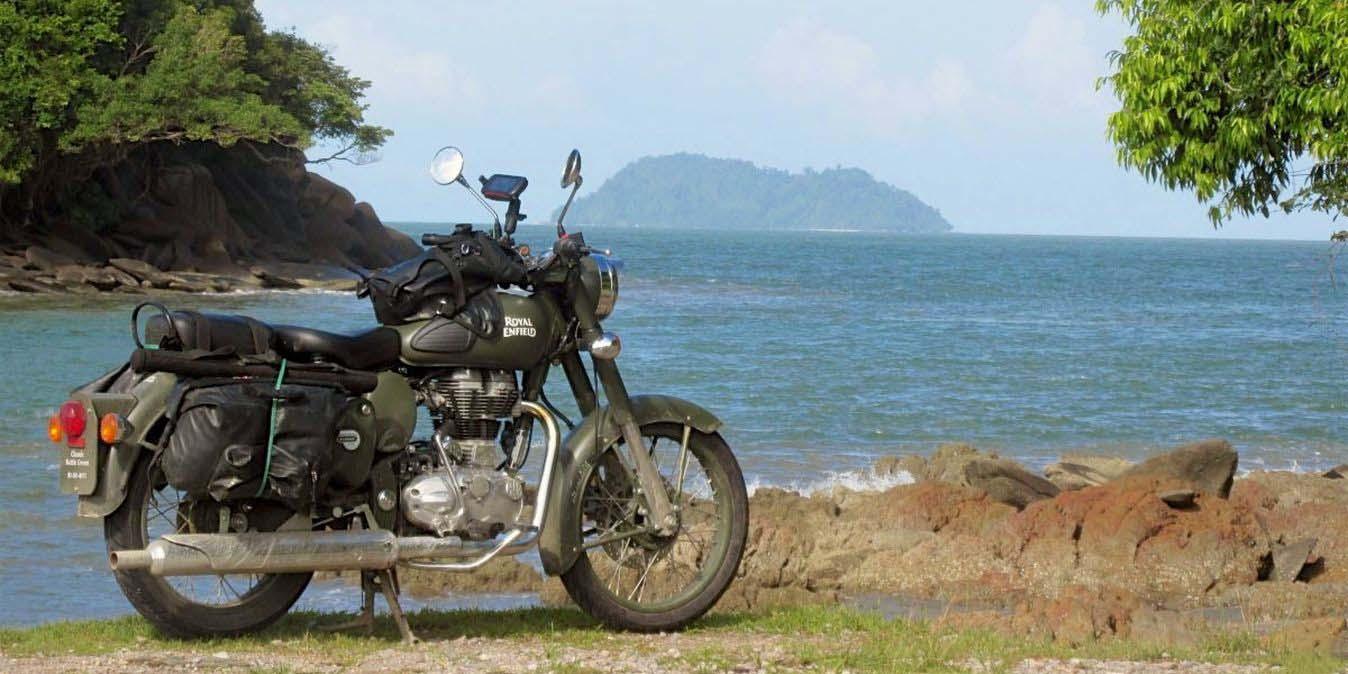 Road trip moto en Thaïlande.