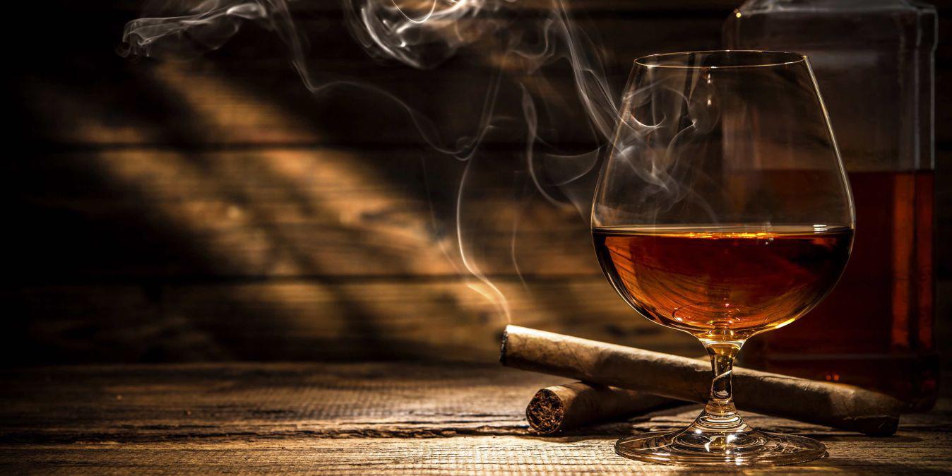 Des vins exquis et des cigares nobles.