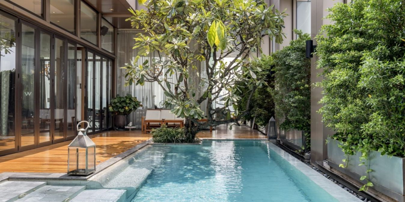 Villa à louer à Bangkok.