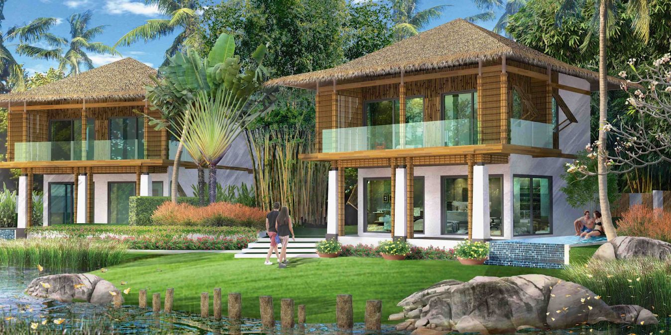 Villa à louer sur Krabi.