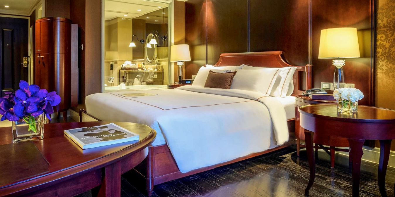 Chambre personnalisée et spacieuse hôtel Muse Bangkok Longsuan.
