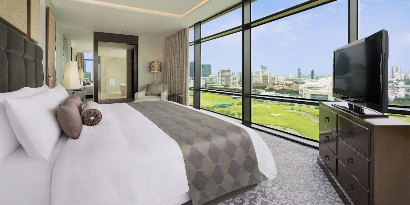 Saint Régis Bangkok chambre vue - Luxurythai Voyage.